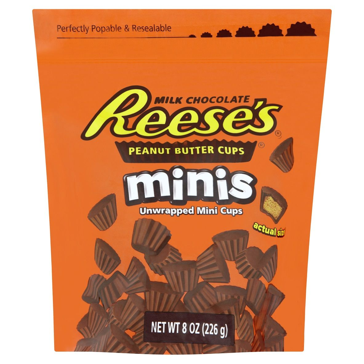 Wholesale Reese S Mini Peanut Butter Cups Pouch 226g Hancocks