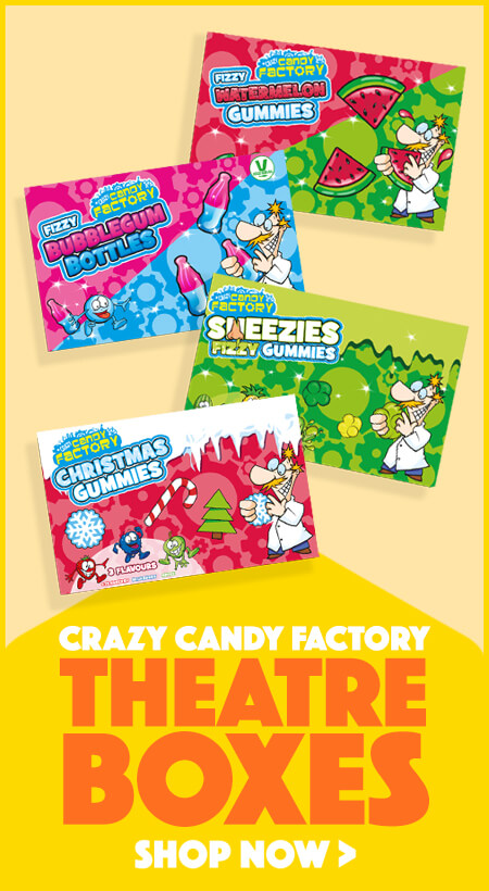 Crazy Candy Factory Theatre Boxes
